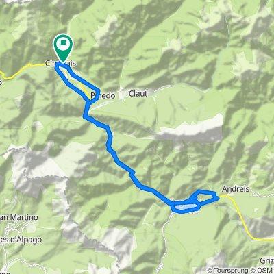 Via XX Settembre 54, Cimolais nach Via XX Settembre 54, Cimolais