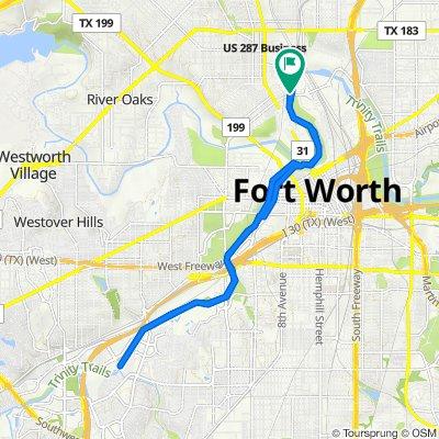 601 E Northside Dr, Fort Worth to 601 E Northside Dr, Fort Worth