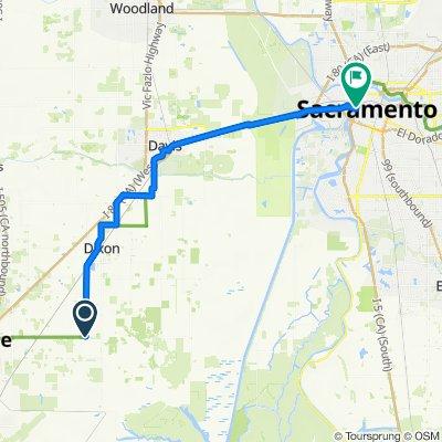 6300–6312 Pitt School Rd, Dixon to 1100 Front St, Sacramento
