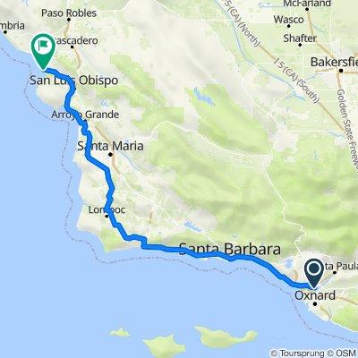1500–1550 Montgomery Ave, Ventura to 590 Harbor St, Morro Bay