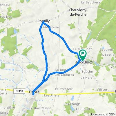 De Place de Leglise 16, La ville-aux-Clercs à Place du Puits 5, La ville-aux-Clercs
