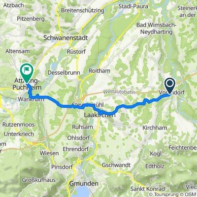 L1306 12, Vorchdorf to Doktor-Karl-Renner-Platz 5-6, Attnang-Puchheim