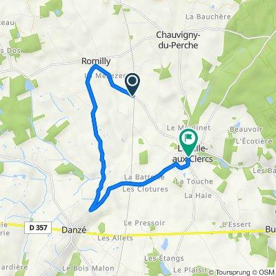 Itinéraire vers Rue de Vendôme 2, La ville-aux-Clercs