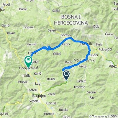 Bosnien und Herzegowina nach Sulejmana Kapića 6, Donji Vakuf