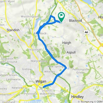 Blundell Lane, Blackrod to Blundell Lane, Blackrod