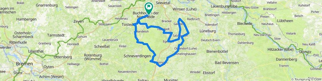 Heidetour 150km