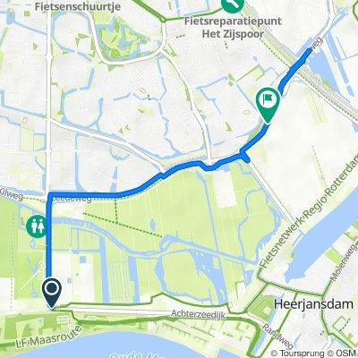 3e Barendrechtseweg 565, Barendrecht naar Boezempad 16–18, Barendrecht