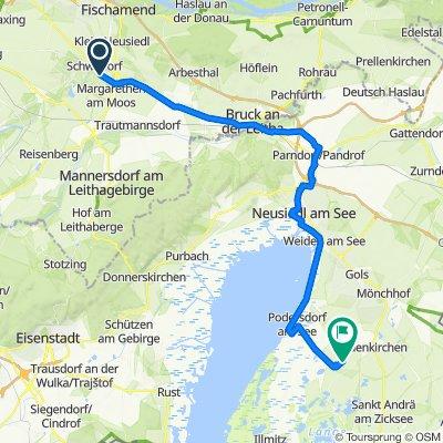 Route nach Althof 2, Frauenkirchen
