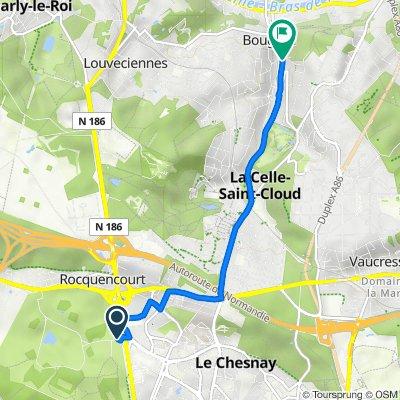 De 30 Route de Versailles, Rocquencourt à 98 Rue du Maréchal Joffre, Bougival