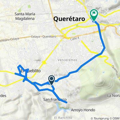 De Bosque Alemania 28, El Pueblito a Santiago de Querétaro