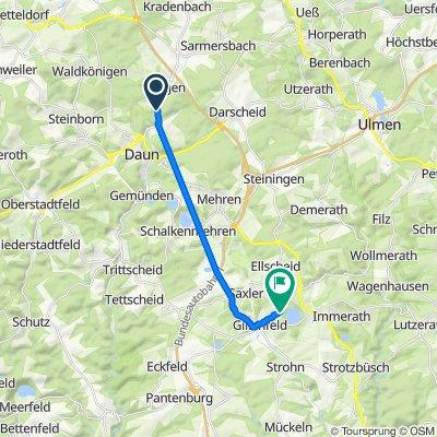Julius-Saxler-Straße 4, Daun nach Auf der Maarhöhe 2A, Gillenfeld