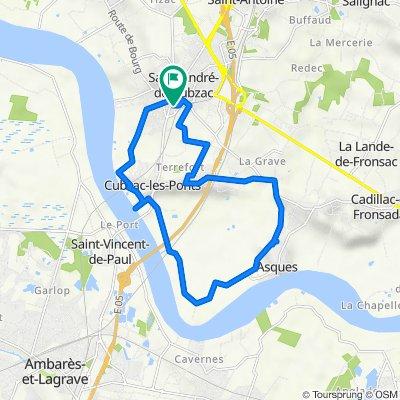 De 9 Rue Constantin, Saint-André-de-Cubzac à 9 Rue Constantin, Saint-André-de-Cubzac