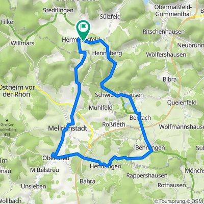 Rund um Melrichstadt