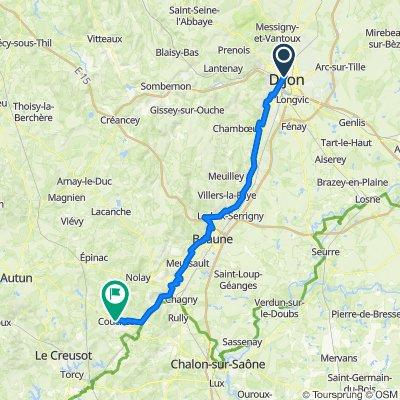 Etape 4 Dijon - Couches