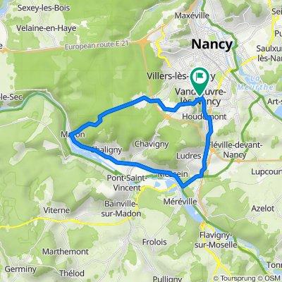 De 12 Rue de Venise, Vandoeuvre-lès-Nancy à 12 Rue de Venise, Vandoeuvre-lès-Nancy