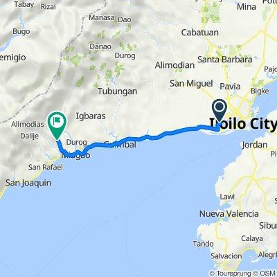 Unnamed Road, Iloilo City to Unnamed Road, Miagao