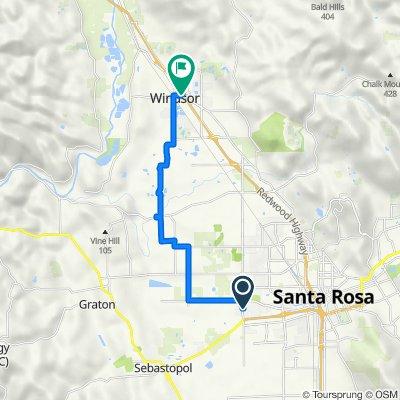 Widgeon Court 2438, Santa Rosa to Old Redwood Highway 9240, Windsor