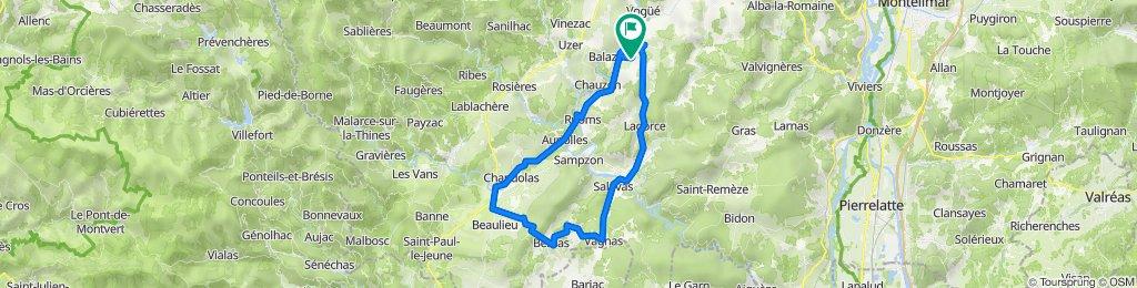 Vakantieroute 3 70km