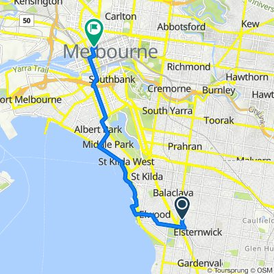 Gordon Street 47, Elsternwick to Park Street 10-14, Melbourne