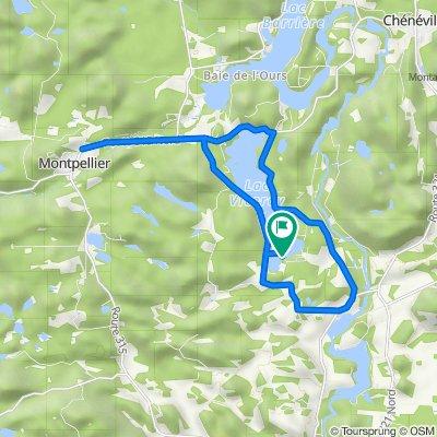De Chemin du Lac Daoust Nord 35-1, Ripon à Chemin du Lac Daoust Nord 35-1, Ripon
