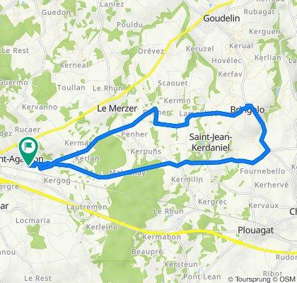 Saint Agathon 20 km Campagne