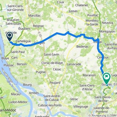 Saint-Martin-Lacaussade Cycling