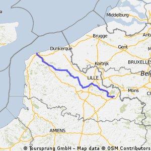 (6) Stage 6 Calais-Valenciennes