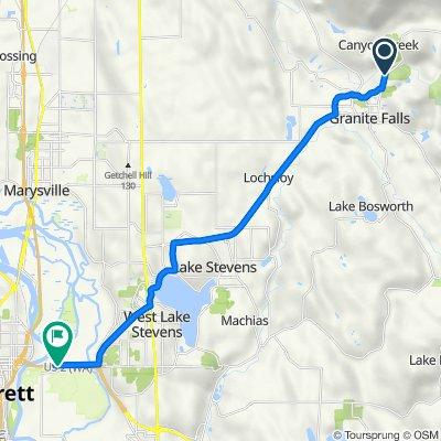 11300–11400 Mountain Loop Hwy, Granite Falls to US-2 W, Everett