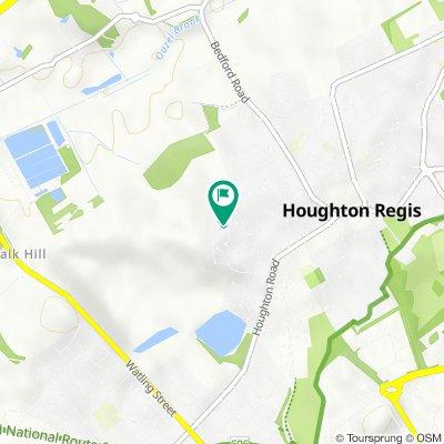 Coopers Way 35, Houghton Regis to Coopers Way 25, Houghton Regis