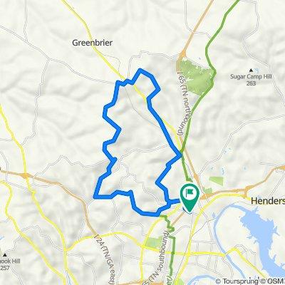 30 miler from Goodlettsville