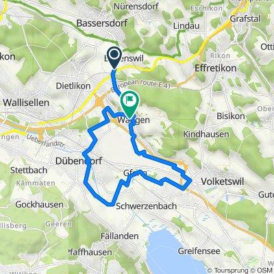 Birkenweg 10, Bassersdorf nach Strehlgasse 18, Wangen bei Dübendorf