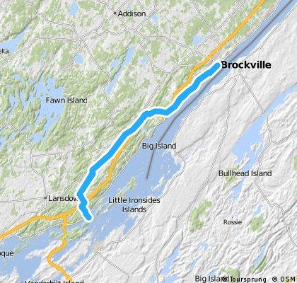 Rockport: Brockville Bakery Run (72km)