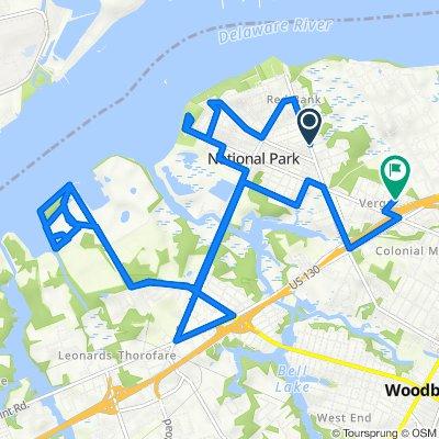 1401 Red Bank Ave, West Deptford to 1375 Park Pl, West Deptford