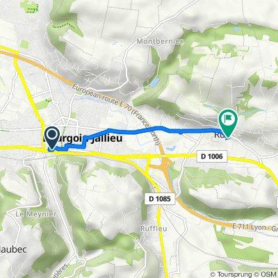 De 3 Rue du Collège, Bourgoin-Jallieu à 50 Rue de la Salière, Ruy