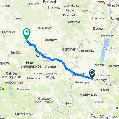 Słomków Suchy, Wróblew do Jedlec 39, Gołuchów