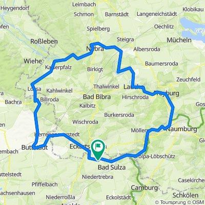 2021-07-03: Auerstädt - Buttstädt - Nebra - Laucha - Bad Sulza