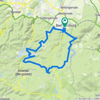 Bad Harzburg - Okertalsperre Rundweg