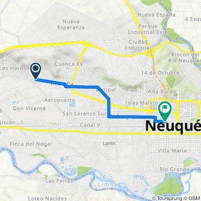 De N2746, Neuquén a Carlos H.Rodríguez 628, Neuquén