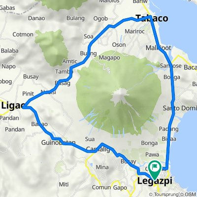 Mayon 360 Route