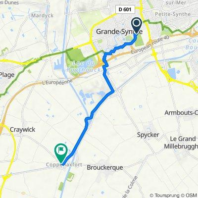 De 62 Boulevard Pierre Mendès France, Grande-Synthe à 2377G Route de Coppenaxfort, Craywick