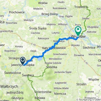EuroVelo 9 - Jaworzyna-Wrocław