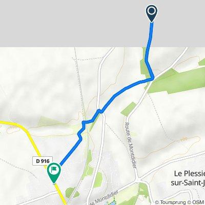 De Le Faubourg, Plainval à 25 Rue Tailbouis, Saint-Just-en-Chaussée