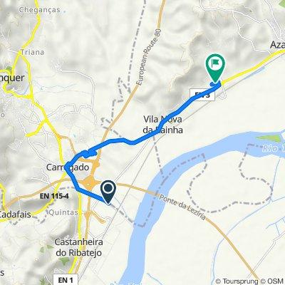 Estrada da Vala 67, Castanheira do Ribatejo to N3 7, Vila Nova da Rainha
