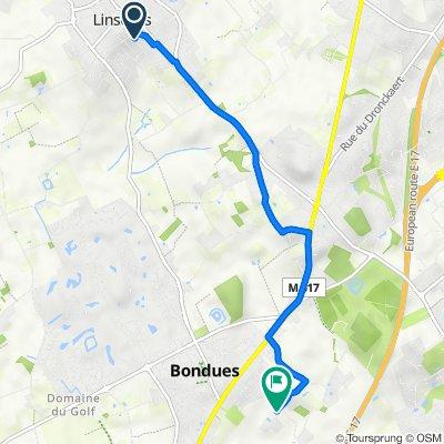 De Rue de Roubaix 62, Linselles à Bondues