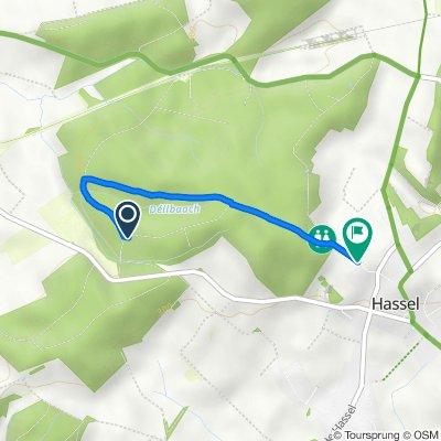 Route to Rue de la Forêt 3B–7, Weiler-la-Tour