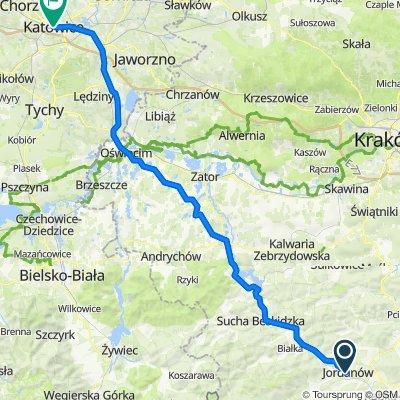 Mickiewicza 50a, Jordanów do Rynek, Katowice