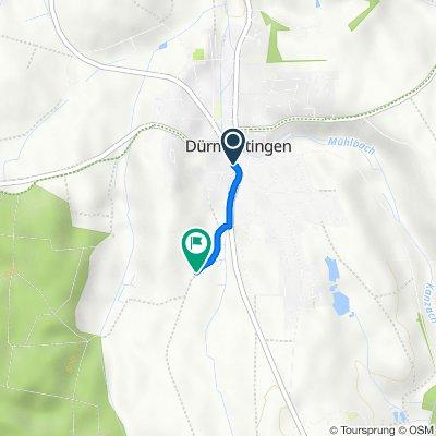 Route von Ziegelgasse 2–6, Dürmentingen
