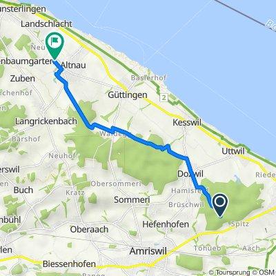 Waldschenke, Romanshorn nach Längi 2, Altnau
