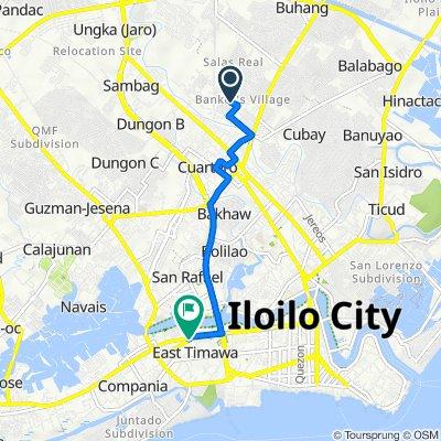 Yen Street, Iloilo City to Molo By-Pass Road, Iloilo City