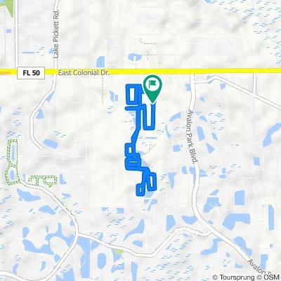 14249 Acorn Ridge Dr, Orlando to 14239 Acorn Ridge Dr, Orlando